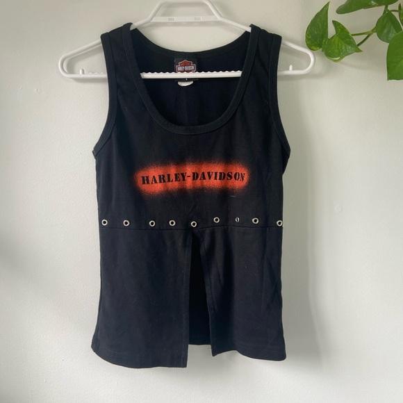Y2K Harley Davidson shirt